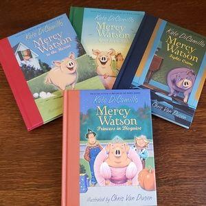 Kate Di Camillo Mercy Watson Set of 4 Books